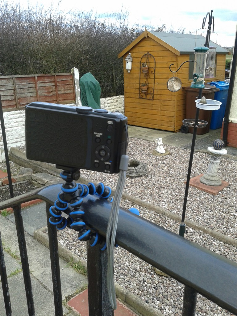 Remotely controlled camera